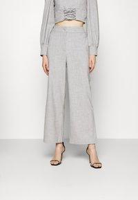 Fashion Union - DURAN TROUSER - Trousers - grey - 0