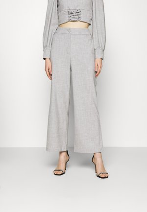 DURAN TROUSER - Trousers - grey
