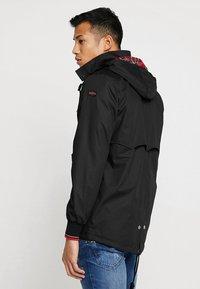 HARRINGTON - MICK HOODED - Summer jacket - black - 2