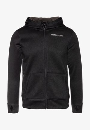 OAK - Mikina na zip - true black heather