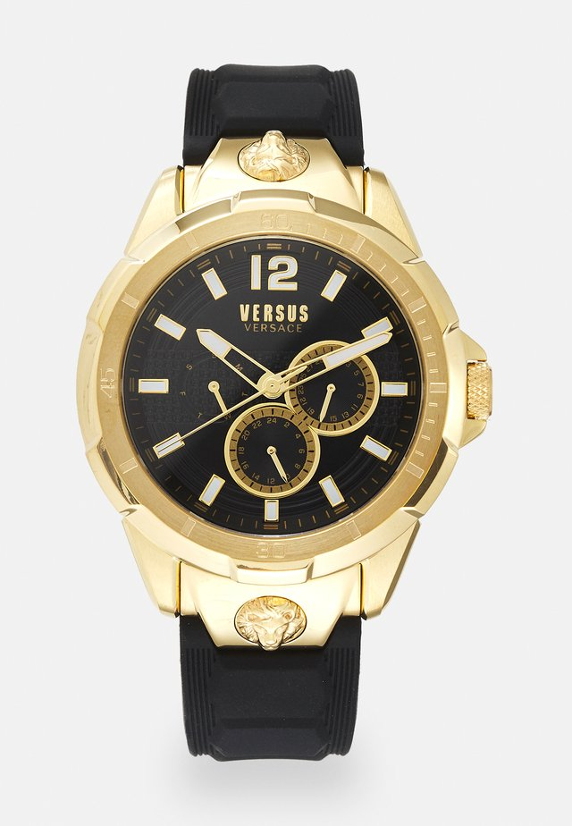 RUNYON - Montre - black/gold-coloured