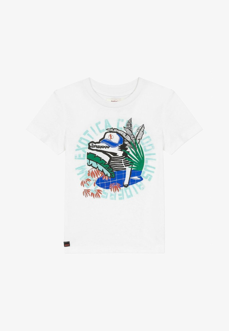 Catimini - T-shirt print - white