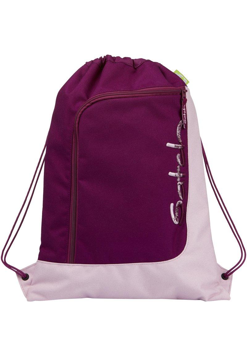 Satch - Drawstring sports bag - purple rose