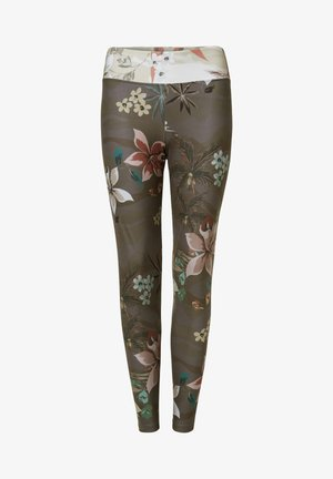 Leggings - Trousers - green