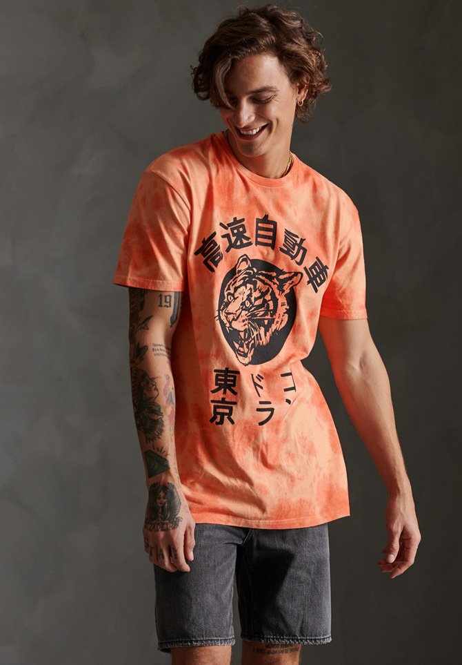 Homme TONAL TIEDYE TEE - T-shirt imprimé
