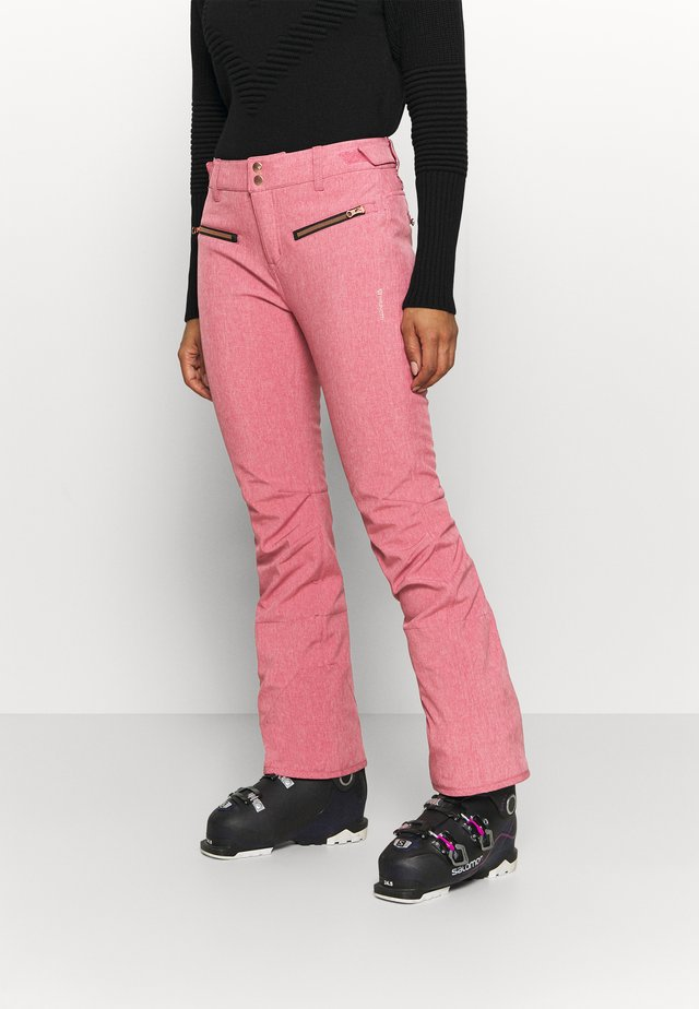 SILVERLAKE MELANGE WOMEN PANT - Skibukser - pink grape
