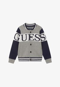 Guess - TODDLER - Chaqueta de punto - blue/grey - 2