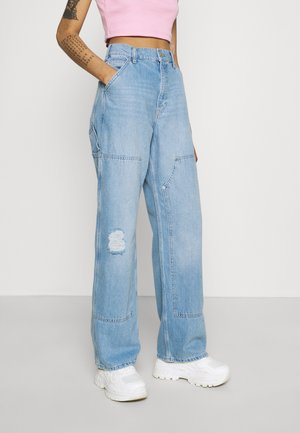 JUNO CARPENTER - Relaxed fit jeans - summer bleach