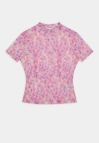 NA-KD - SHORT SLEEVE - Print T-shirt - lilac - 0