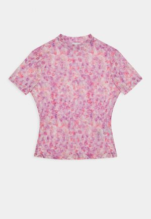 SHORT SLEEVE - Print T-shirt - lilac