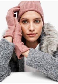 s.Oliver BLACK LABEL - Gloves - light pink - 1