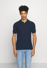 Roberto Collina - Polo shirt - navy - 0