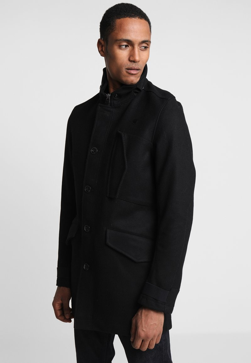 G-Star - SCUTAR UTILITY  - Classic coat - black