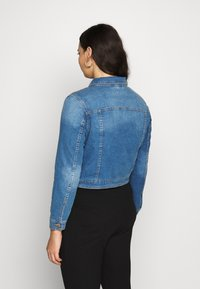 CAPSULE by Simply Be - WESTERN JACKET - Denim jacket - blue - 2