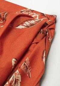 Mango - Wrap skirt - rojo - 6