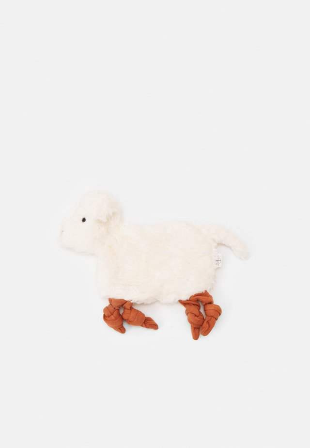 BABY COMFORTER TINY FARMER SHEEP UNISEX - Bamser - white