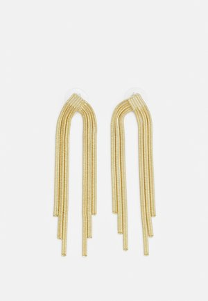 KNOT BIG TASSEL - Earrings - gold-coloured