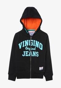 Vingino - OKAY - Zip-up hoodie - deep black - 2