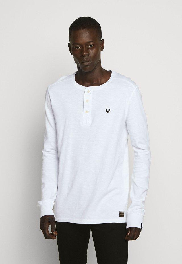 BUTTONFLY  - T-shirt à manches longues - white