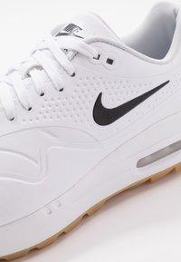 Nike Golf - AIR MAX 1 G - Golfskor - white/light brown - 5