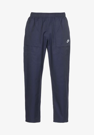 Pantalones deportivos - midnight navy/white