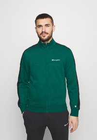 Champion - FULL ZIP SUIT SET - Trainingspak - green/black - 0
