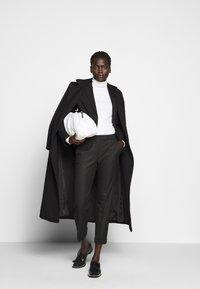 MAX&Co. - MONOPOLI - Trousers - black - 1