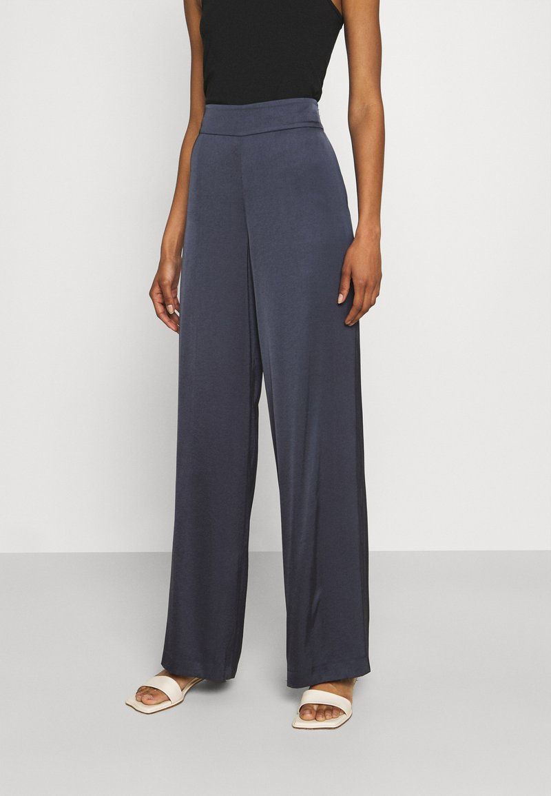HUGO - HAREMAS - Trousers - dark blue