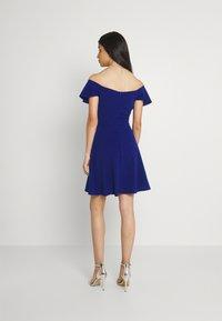 WAL G. - STACEY SKATER DRESS - Koktejlové šaty/ šaty na párty - electric blue - 2