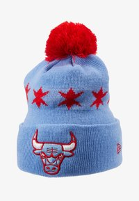 New Era - NBA CHICAGO BULLS OFFICIAL CITY SERIES - Czapka - sky blue