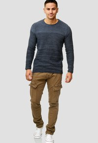 INDICODE JEANS - RAYANE - Cargo trousers - brown - 1