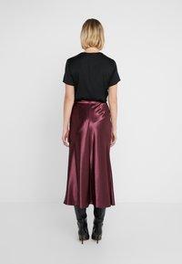 HUGO - RACELA - A-line skirt - medium red - 2