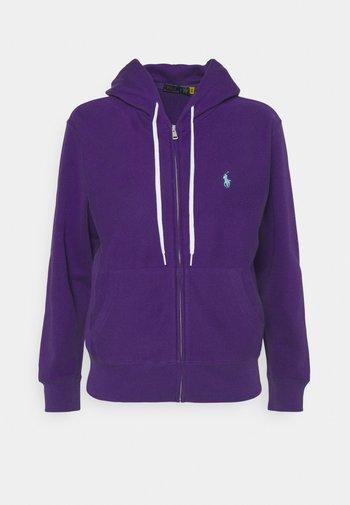 FEATHERWEIGHT - Felpa con zip - purple rage