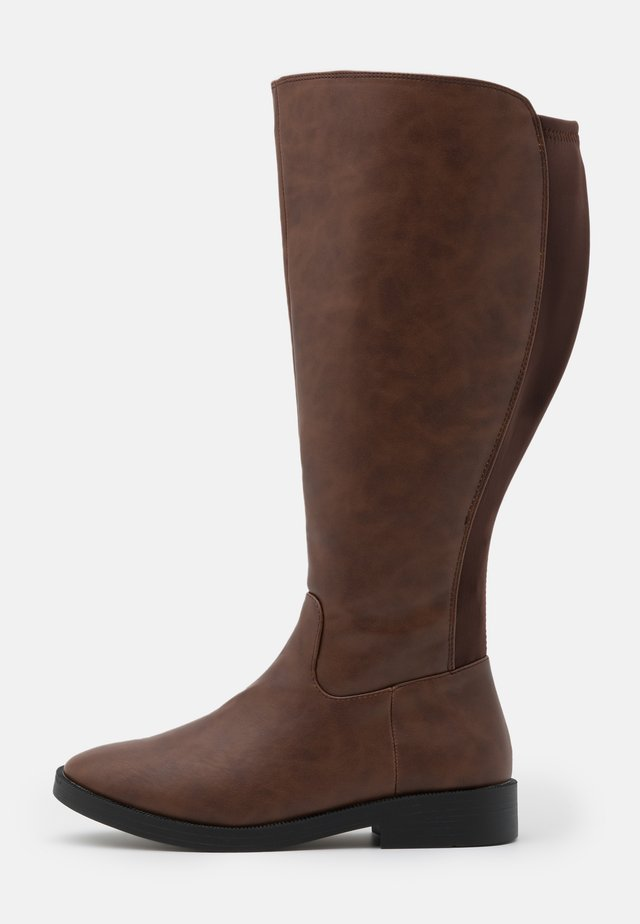 WIDE FIT PRIMROSE - Stiefel - tan