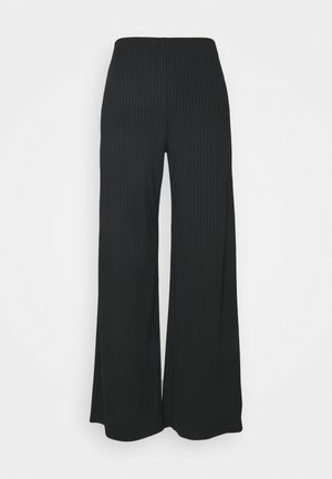 CARLY FULL LEG - Trousers - black