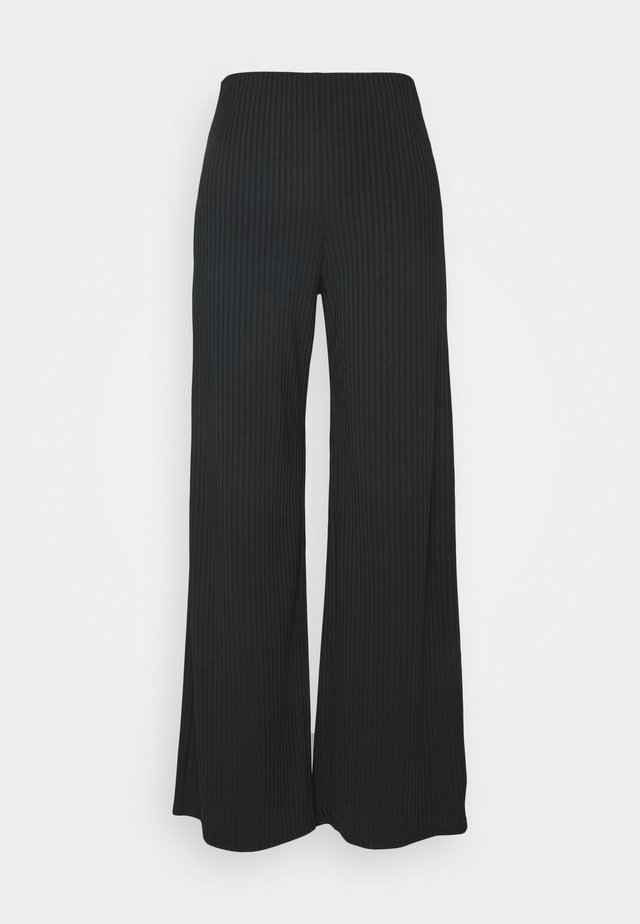 CARLY FULL LEG - Trousers - black