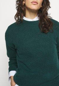 Bruuns Bazaar - HOLLY JOHANNE  - Svetr - teal green - 6