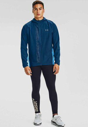 QUALIFIER OUTRUN THE STORM JACKET - Training jacket - graphite blue
