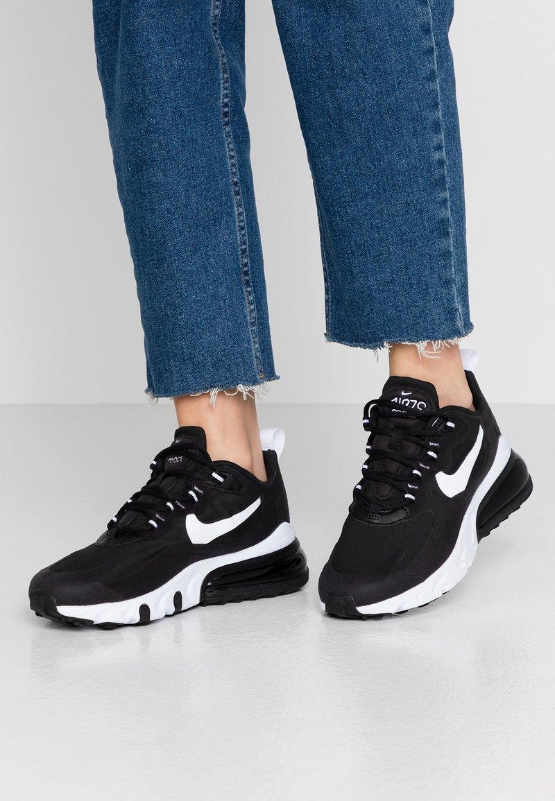 Nike Sportswear - AIR MAX 270 REACT - Baskets basses - black/white