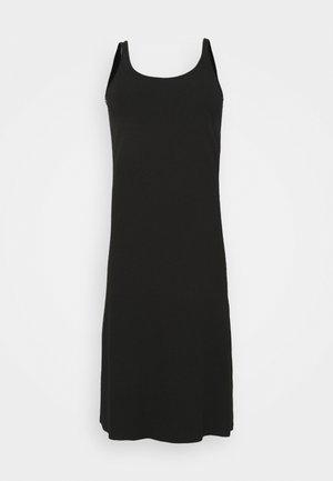 SLFNANNA STRAP DRESS - Jerseykleid - black