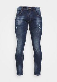 Alessandro Zavetti - LUCIANO SUPER SLIM FIT - Skinny džíny - mid blue wash - 3