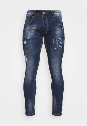 LUCIANO SUPER SLIM FIT - Skinny-Farkut - mid blue wash