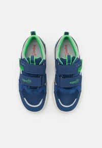 Superfit - STORM - Tenisky - blau/grün - 3