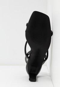Glamorous - Sandály na vysokém podpatku - black - 6