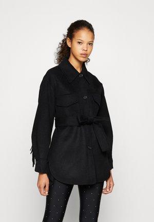 GAVINOFF - Krátký kabát - noir