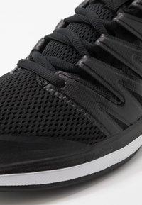 Nike Performance - Multicourt tennis shoes - black/white/volt - 5