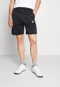 Nike Sportswear - TRIBUTE - Shorts - black/white - 0