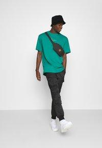 Karl Kani - SMALL SIGNATURE TEE UNISEX - Print T-shirt - turquoise - 1