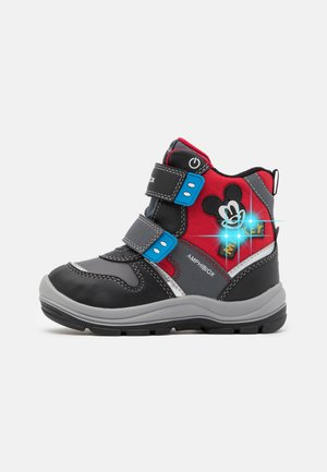 DISNEY FLANFIL BOY ABX - Winter boots - black/red