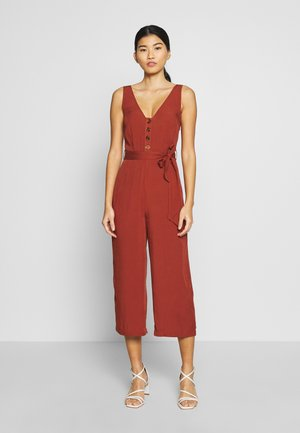 MONO LISO - Jumpsuit - tan